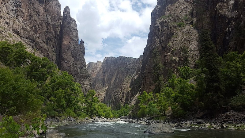 5 13 21 Black Valley of the Gunnison NP River cNPS