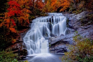 Bald River Falls. Photo by VHM Photography courtesy Explore Tennessee River Valley.