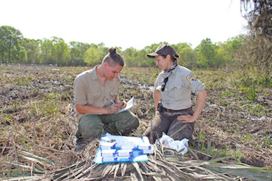 Jake Ballard and Laurie Lomas Gonzales. Photo courtesy of Entergy.