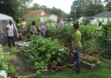 Micro-market gardens support community health and local producers.
