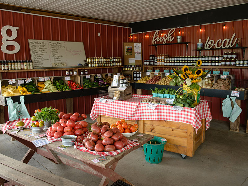 Garners Produce Roadside Stand