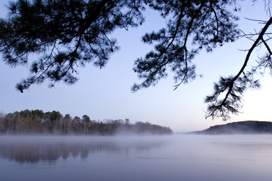 Lake Wateree. Photo by Brian Gomask.