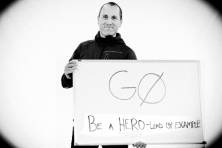 Heroes gozero North Face Todd Spaletto by Aaron Kehoe