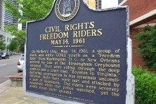 Freedom Riders Civil Rights Plaque