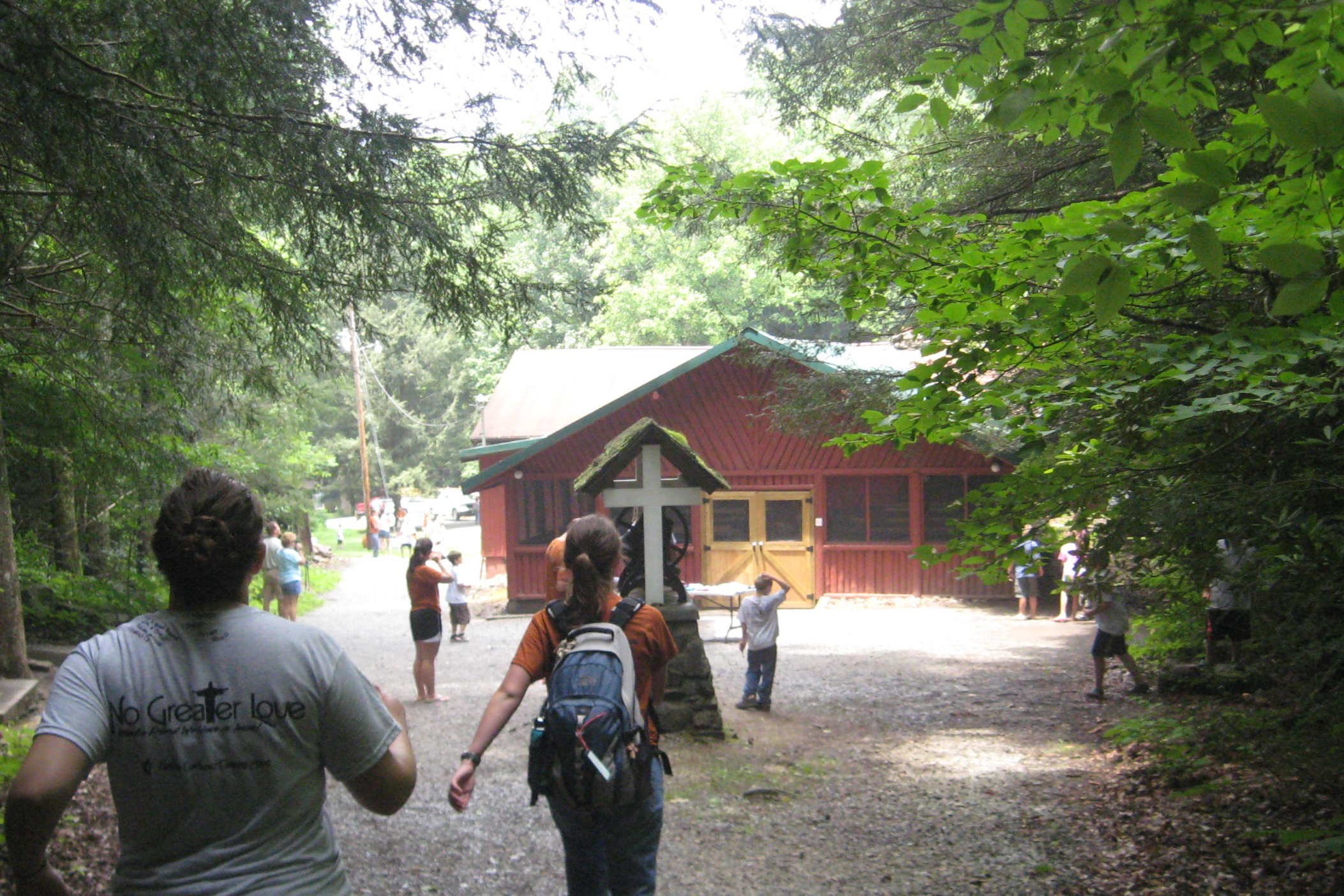 The former Buffalo Mountain Camp and Retreat Center. Photo courtesy of the United Methodist Church