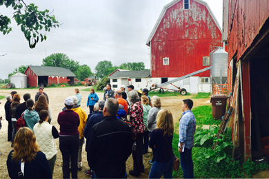 Greenbelt Bus Tour Celebrates Protected Farms and Property