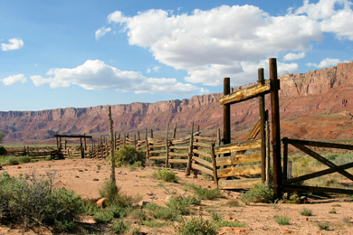 Kane and Two Mile Ranch on the North Rim of the Grand Canyon. Photo courtesy Grand Canyon Trust