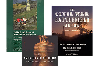 Books on Civil War Battlefield and American Revolution Conservation