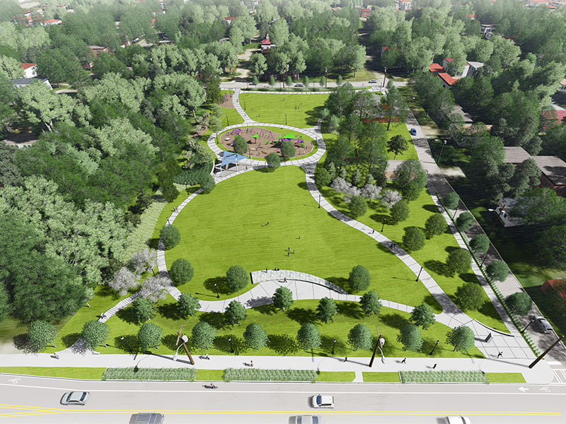 Boone Park West rendering