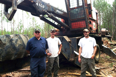 Young Loggers Buck the Trend