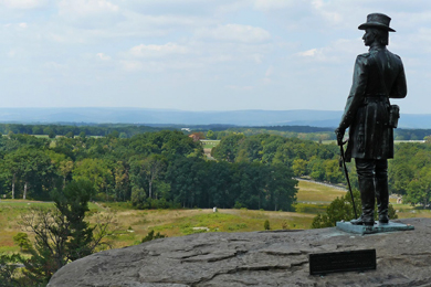 Gettysburg Battlefield National Military Park. Photo by Mary Harrsch/Flickr