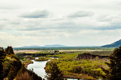 Upper Snake River. Photo by Mad Poet.