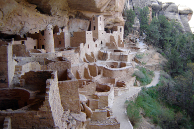 Cliff Palace at Mesa Verde National Park. Photo courtesy National Park Service/Martha Smith