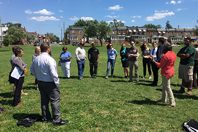 Parks with Purpose in Baltimore