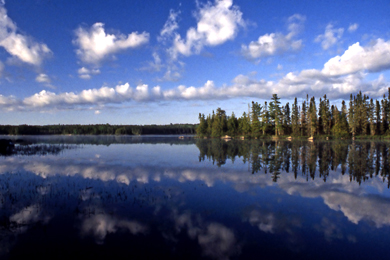Lake at Quetico Provincial Park. Photo by Steve Wall/Flickr