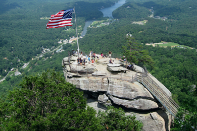 Chimney Rock Park. Photo by William Walsh/Flickr