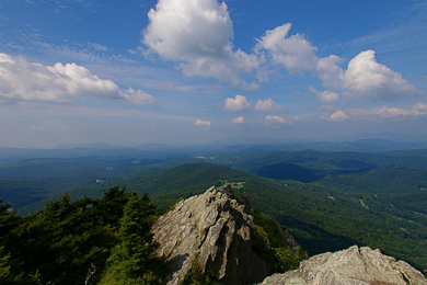 Grandfather Mountain. Photo by Rusty Darbonne/Flickr