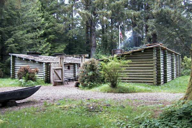 Spring at Fort Clatsop. Photo courtesy National Park Service