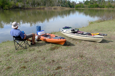 Village Creek takeout on the Neches River. Photo by Patrick Lewis/Flickr